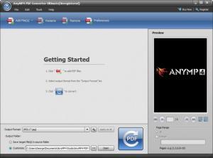 Enlarge AnyMP4 PDF Converter Ultimate Screenshot