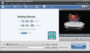 Enlarge AnyMP4 Video Converter Ultimate Screenshot