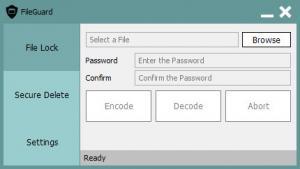 Enlarge FileGuard Screenshot