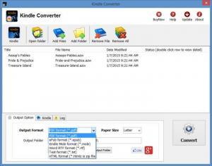 Enlarge Kindle Converter Screenshot