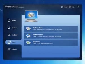Enlarge AOMEI PXE Boot Screenshot
