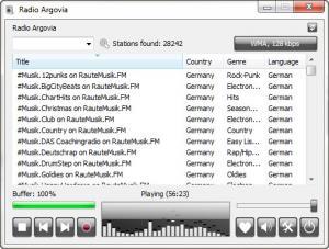 Enlarge RadioSure Screenshot