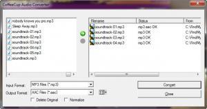 Enlarge MP3 Rip & Burn Screenshot