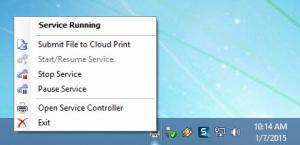 Enlarge Cloud Print for Windows Screenshot