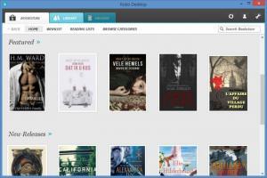 Enlarge Kobo Desktop Screenshot