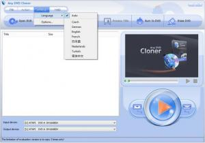 Enlarge Any DVD Cloner Screenshot