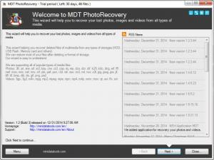 Enlarge MDT PhotoRecovery Screenshot