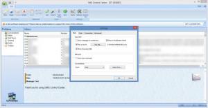 Enlarge SMS Control Center Screenshot