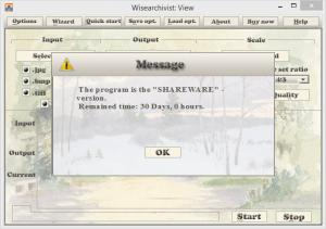 Enlarge WiseArchivist Screenshot