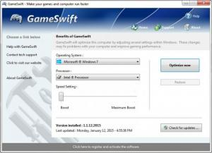 Enlarge GameSwift Screenshot