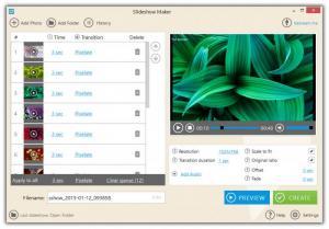 Enlarge Icecream Slideshow Maker Screenshot