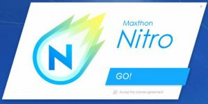 Enlarge Maxthon Nitro Screenshot
