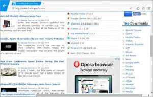 Enlarge Maxthon Nitro Screenshot