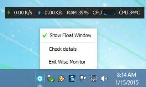 Enlarge Wise System Monitor Screenshot