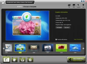 Enlarge ThunderSoft Flash Gallery Creator Screenshot