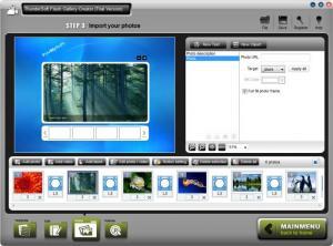 Enlarge ThunderSoft Flash Gallery Creator Screenshot