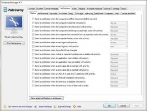 Enlarge Pulseway Manager Screenshot