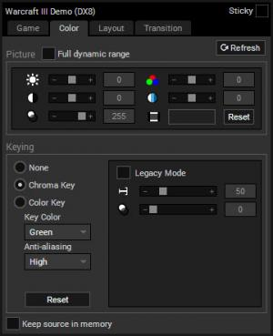Enlarge XSplit Broadcaster Screenshot