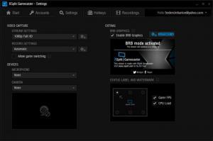 Enlarge XSplit Gamecaster Screenshot