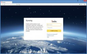 Enlarge Yandex Browser Screenshot