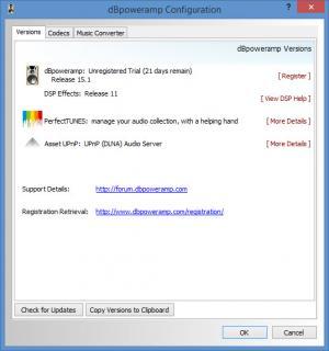 Enlarge dBpoweramp CD Ripper Screenshot