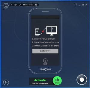 Enlarge liteCam Android Screenshot