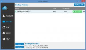 Enlarge ADrive Desktop Screenshot