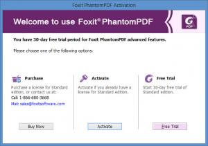 Enlarge Foxit PhantomPDF Screenshot