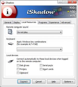 Enlarge iShadow Desktop Screenshot