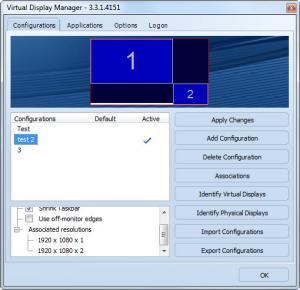 Enlarge Virtual Display Manager Screenshot