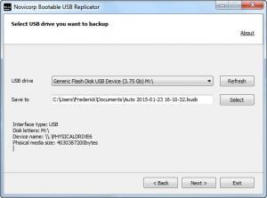 Enlarge Bootable USB Replicator Screenshot