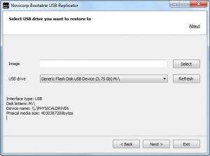 Enlarge Bootable USB Replicator Screenshot
