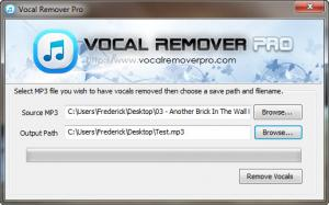 Enlarge Vocal Remover Pro Screenshot