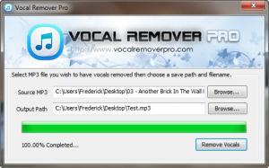Enlarge Vocal Remover Pro Screenshot