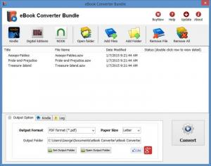 Enlarge eBook Converter Bundle Screenshot