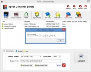 Enlarge eBook Converter Bundle Screenshot