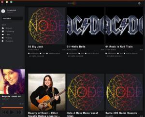 Enlarge Soundnode App Screenshot