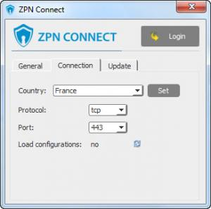 Enlarge ZPN Connect Screenshot
