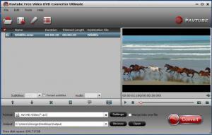 Enlarge Pavtube Free Video DVD Converter Ultimate Screenshot