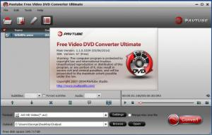 Enlarge Pavtube Free Video DVD Converter Ultimate Screenshot