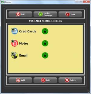 Enlarge IDLocker Screenshot