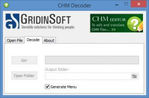 Enlarge CHM Decoder Screenshot