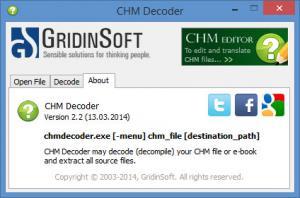 Enlarge CHM Decoder Screenshot