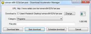 Enlarge Download Accelerator Manager Screenshot