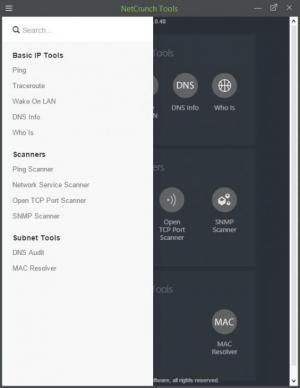 Enlarge NetCrunch Tools Screenshot