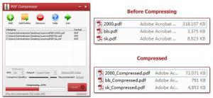 Enlarge PDF Compressor Screenshot