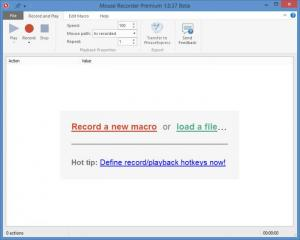 Enlarge Mouse Recorder Premium Screenshot