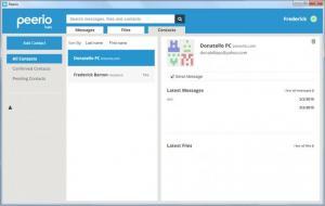 Enlarge Peerio Screenshot