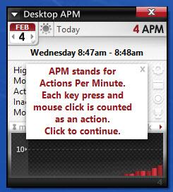Enlarge Desktop APM Screenshot