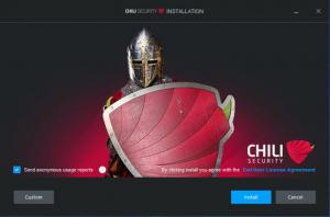 Enlarge Chili Internet Security Screenshot